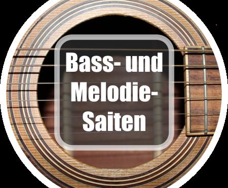 Gitarre lernen: Betonung von Bass- und Melodiesaiten