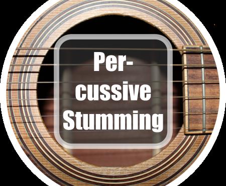 Gitarre spielen lernen: Percussive Strumming