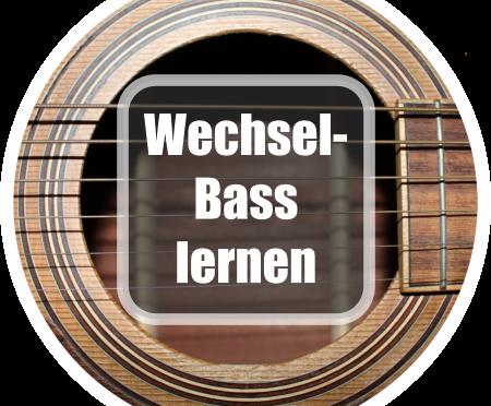 Gitarre spielen lernen: Wechselbass