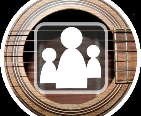Community: Gitarre lernen mit 2.500 anderen